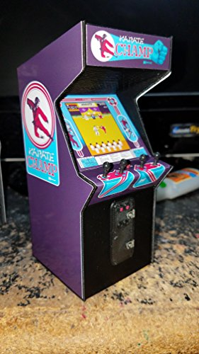 Mini Karate Champ Arcade Cabinet Collectible Display