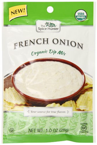 Organic French Onion Dip - Spice Hunter Organic French Onion Dip Mix, 1 Ounce (Pack of 12)