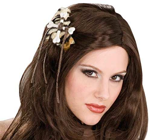 Forum Novelties Women's Stone Age Hair Clip, Multi, One (Pebbles Costume For 1 Year Old)