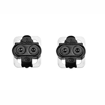 6457e55cf7d41 SPD Cleats Shimano compatible mountain bike pedal clips: Amazon.co ...
