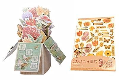 Tarjetas de 3 en 1 Pack Amazing Tarjeta de regalo en la caja ...