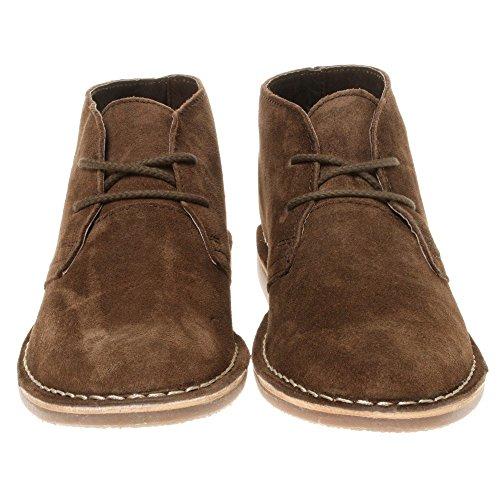 Red Tape - Botas de ante para hombre marrón marrón, color marrón, talla 40.5