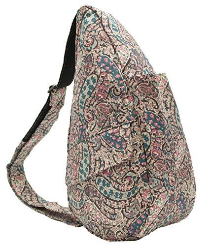 (AmeriBag Healthy Back Bag tote Print Extra Small (Spring Paisley))