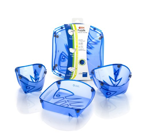 'Fozzils Solo Pack (Cup, Bowl, Dish) - New Blue ()