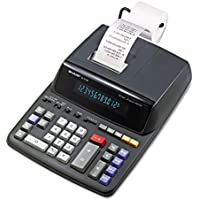 Sharp EL2196BL EL2196BL Two-Color Printing Calculator Black/Red Print 3.7 Lines/Sec