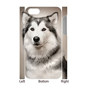 Dogs Personalized 3D Cover Case for Iphone 4,4S,customized phone case ygtg-308445