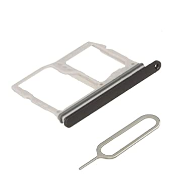 MMOBIEL Bandeja de Doble Tarjeta SIM/SD Compatible con LG G6-5.7 Pulg. (Astro Black) Incl. sim Pin