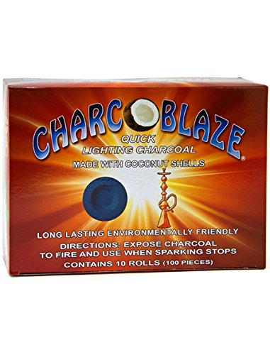 (Charcoblaze Quick Lighting Charcoal Made with Coconut Shell 100)