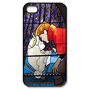 Stained Glass Disney Sleeping Beauty Hard Plastic phone Case Cover+Free keys stand For Iphone 4 4S case cover ZDI037694