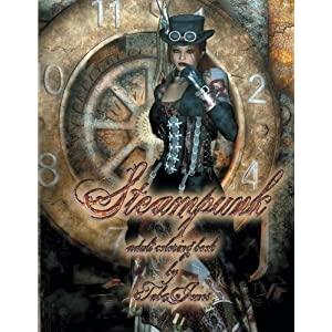 Steampunk Adult Coloring Book