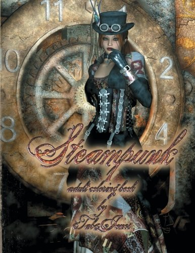Steampunk Adult Coloring Book 3