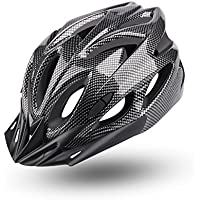 YISSVIC Lightweight Cycle Bike Helmet with Removable Visor and Liner