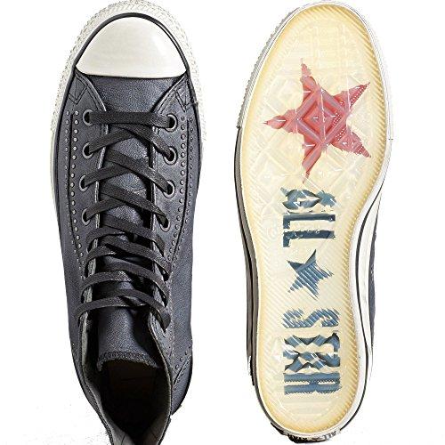 Converse Menns Chuck Taylor All Star Hi Svart / Glitter 151292c-072