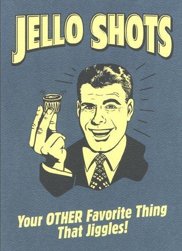 Amazon Jello Shots Funny Retro Birthday Card Office Products