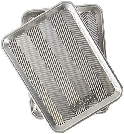 2-Pack Nordic Ware 45374AMZ Prism Quarter Sheet