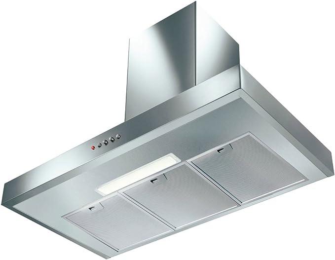 Faber GEMMA 900 mm acero inoxidable cocina campana extractora/ventilador Extractor: Amazon.es: Grandes electrodomésticos