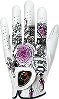 easyglove FASHION_TATOO-PURPLE-W Women's Golf Glove (White)