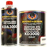 House of Kolor GALLON KIT GRAY Color KD3000 DTS Surfacer / Sealer w/ Hardener