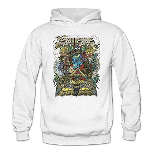 Tommery Women's Carlos Santana Long Sleeve Sweatshirts Hoodie