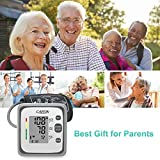 Blood Pressure Monitor Upper Arm Cuff for Home Use