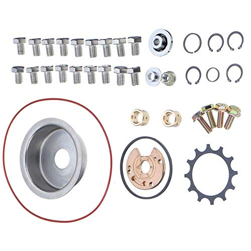 - Transport-Accessories - 38Pcs Auto Car Turbo Turbocharger Repair Rebuild Kit For Garrett VL RB30 R31 T3/ T4 T04E T04B Turbo Turbocharger Repair Tool Set