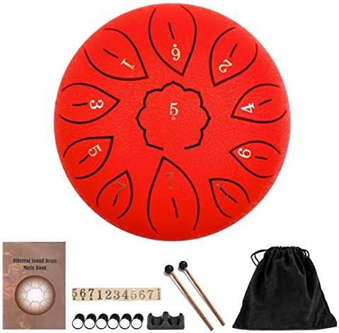 11 roestvrij noten van de trommel, C-sleutel, Etereo trommel met stick, vingerpicks, sticker, concerto meditatie, yoga, therapeutisch
