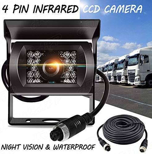Car Backup Camera Niloghap Universal IP69K Waterproof Rear View Camera IR Night Vision with Tracking Lines Reverse Camera for Car Pickup Truck SUV RV Van