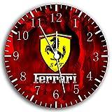Ferrari Super Car Frameless Borderless Wall Clock W442 Nice For Gift or Room Wall Decor
