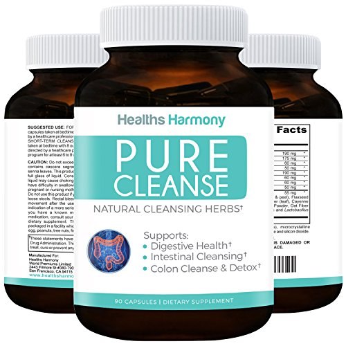 pure cleanse best colon cleanse detox for weight lose psyllium husk new ebay. Black Bedroom Furniture Sets. Home Design Ideas