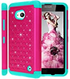 Lumia 640 Case,Sophia Shop 2 in 1 Hybrid Hard PC+Soft silicone Premium Heavy Duty Dual Layer Anti-slip Defender Cover For Microsoft Lumia 640