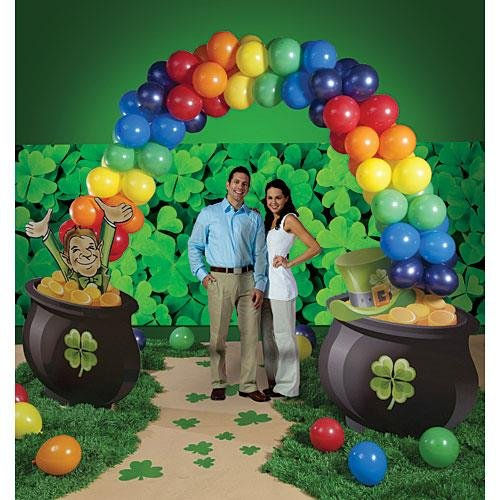 St. Patrick's Day Balloon Arch by Shindigz