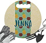 RNK Shops Pineapples and Coconuts Gardening Knee Cushion (Personalized)