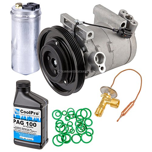 New AC Compressor & Clutch With Complete A/C Repair Kit For Frontier & Xterra - BuyAutoParts 60-81357RK - Compressor A/c Frontier Nissan