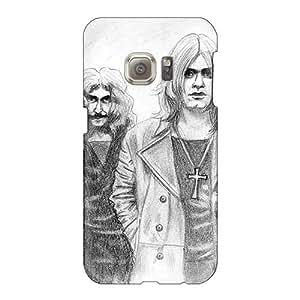 AlainTanielian Samsung Galaxy S6 Bumper Hard Phone Cover Customized Realistic Black Sabbath Band Skin [ChJ15700BDKM]