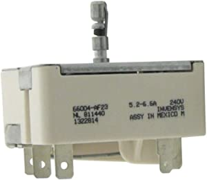 (New) 66004-AF23 3149404 Replacement for WP Range Stove Burner Infinite Switch fits 311856, 311857, 314144, 3148951, AH336993, EA336993, PS336993 + all models in description