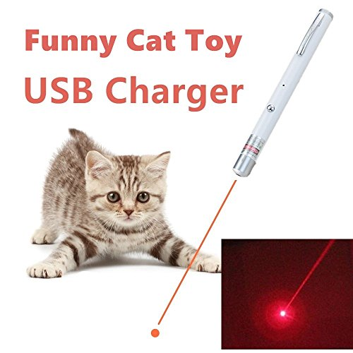Pocket Laser Beam (TriRanger Powerful upgrade module! Pet Cat Catch the Red Dot LED Light Interactive Exercise Toy Cat Lazer Training Tool)