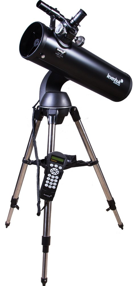 Levenhuk Skymatic 135 GTA Newtonian Reflector Telescope with Go to Function by Levenhuk