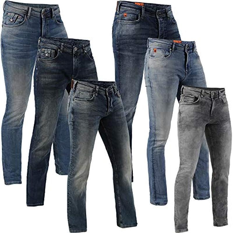 M.O.D Monopol Jeans męskie Thomas Cornell Ricardo spodnie Denim MOD (W29 / L34, Cornell Yukon Blue): Odzież
