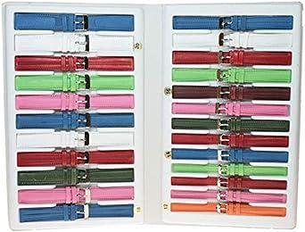 Estuche 24 Correas DE Colores Fabricado EN ESPAÑA: Amazon.es: Relojes
