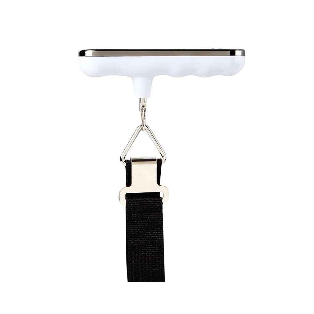 shangjunol 50kg x 10g b/áscula de Cinta Digital Display LCD de Equipaje Colgante de Pesca Escala electr/ónica Peso Steelyard