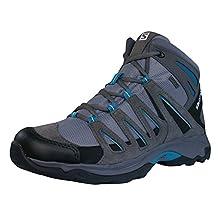 Salomon Greenpeak Mid GTX Womens Hiking Boots / Shoes - Grey
