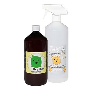 Limpiador probiótico Libby Chan de 500 ml, botella con atomizador ...