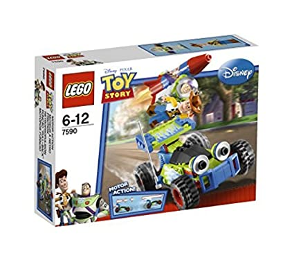 Amazon Com Lego Brand Toy Story Woody And Buzz Rescue 7590 Toys