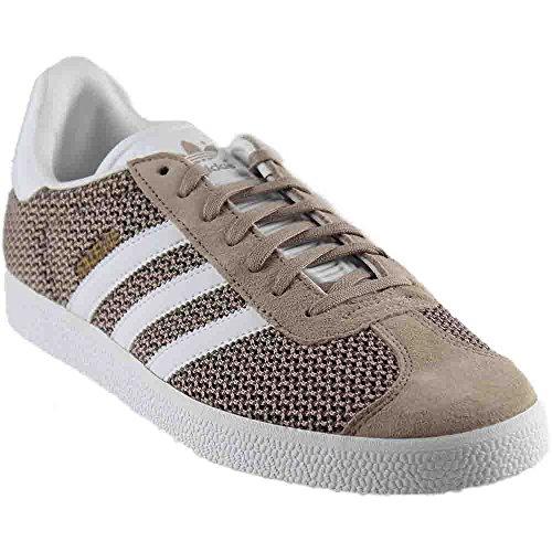 adidas Originals Women's Shoes | Gazelle Fashion Sneakers, Vapour Green/White/Vapour Green, (6 M US)