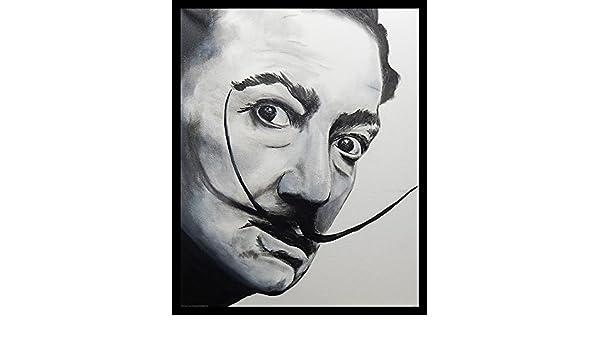 FRAMED Salvador Dali by Ed Capeau 16x12 Art Print Spanish Artist Surrealism