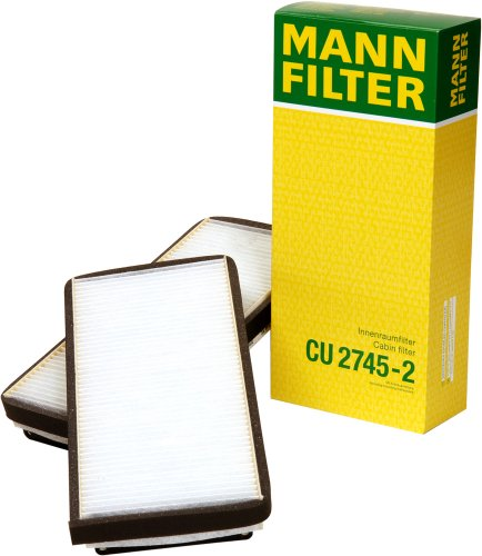 2008 Mercedes Benz Diesel (Mann-Filter CU 2745-2 Cabin Filter for select  Mercedes-Benz models -Set of 2)