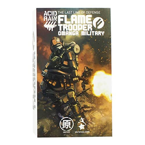 "Acid Rain 4"" Omanga Military Flame Trooper Action Figure"