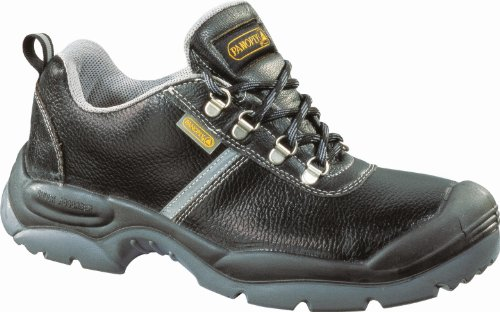 Panoply Workwear Montbrun Mens Water Resistant Split Leather Work Safety Shoes Black uCIAb