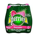 Perrier Watermelon Flavored Carbonated Mineral Water, 16.9 fl oz. Plastic Bottles (6 Count)