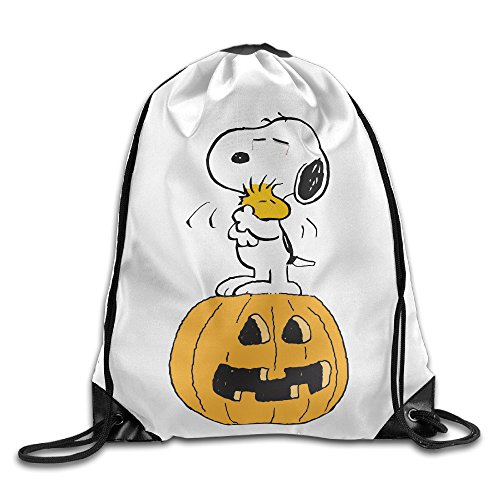 [Sokie Halloween Snoppy Gym Drawstring Backpack/Travel Bag] (Steelers Halloween Costumes For Adults)